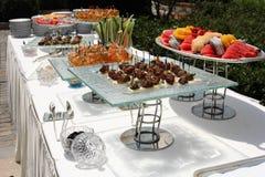 Cateringu jedzenie zdjęcie stock
