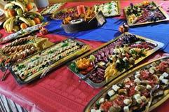 Cateringu jedzenie Obraz Stock