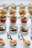 Cateringu palcowy jedzenie Obraz Stock