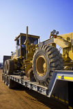 Caterpillar 140H Load Side On Royalty Free Stock Photography