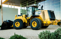 Caterpillar 966K Loader Royalty Free Stock Images