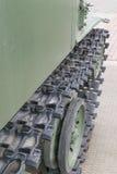 Caterpillar armored vehicles Stock Image