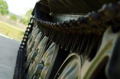 Caterpillar behållare Arkivbild