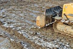 Caterpillar bulldozer Royalty Free Stock Photography