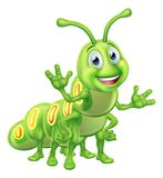Caterpillar Cartoon Character Royalty Free Stock Photo