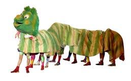 Caterpillar circus Royalty Free Stock Photo