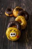 Caterpillar donuts Zdjęcie Stock