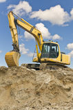 Caterpillar excavator Stock Images