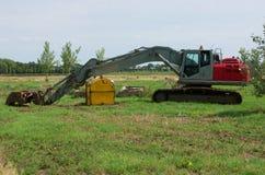 Caterpillar excavator Stock Photography