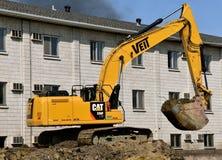Caterpillar 336F excavating machine Stock Photo