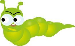 Caterpillar green Royalty Free Stock Photos