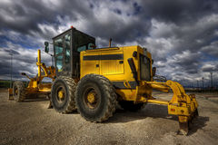 Caterpillar. Hdr picture of an excavator Royalty Free Stock Photography
