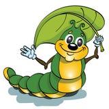 Caterpillar kryp Arkivfoton