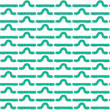 Caterpillar larva pattern. Seamless pattern of the caterpillar larvas Royalty Free Stock Image
