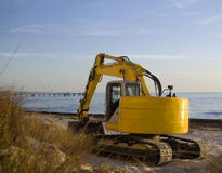 Caterpillar machinery Royalty Free Stock Photos