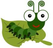 Caterpillar meal time Stock Photography