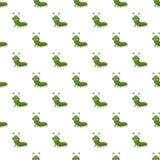 Caterpillar modèlent illustration stock
