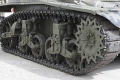 Caterpillar-tank I Royalty-vrije Stock Afbeelding