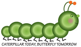 Caterpillar Today Royalty Free Stock Images
