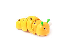 Caterpillar toy Stock Image