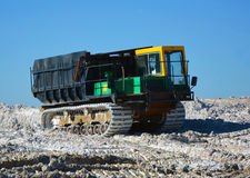 Caterpillar tracked vehicle Royalty Free Stock Photography