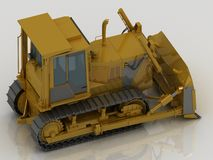 Caterpillar tractor Stock Photos