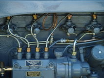 Caterpillar Tractor Engine royalty free stock photography