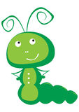 Caterpillar vector el ejemplo Fotos de archivo
