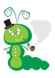 Caterpillar vector el ejemplo Fotografía de archivo libre de regalías