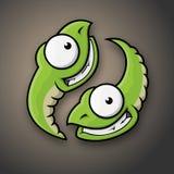 caterpillars royaltyfria bilder