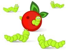 caterpillars arkivfoto