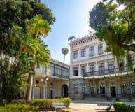 Catete-Palast, der ehemalige Präsidentenpalast bringt jetzt das Republik-Museum - Rio de Janeiro, Brasilien unter stockfoto