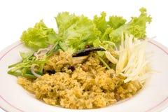 Catfish mix salad Stock Photo