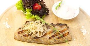 Catfish Steak Royalty Free Stock Photography