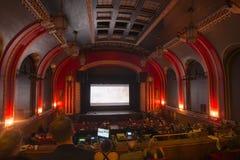Catford theatre 5. The main atrium of the theatre Stock Image