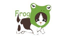 Catfrog stock illustrationer