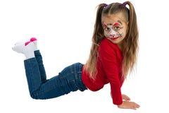 Catgirl Immagine Stock