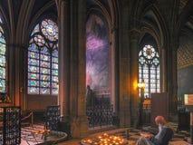 Cathédrale Παναγία των Παρισίων στοκ εικόνα με δικαίωμα ελεύθερης χρήσης