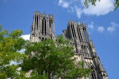 Cathédrale de Реймс стоковая фотография rf