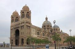 Cathédrale de Sainte-Marie-Majeure Marsella en Francia Fotografía de archivo libre de regalías