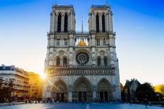 Cathédrale Notre Dame de Paris Royalty-vrije Stock Afbeelding