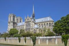 Cathédrale Notre Dame de Paris, Francia fotografia stock
