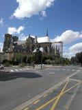 Cathédrale Notre Dame de Reims royalty-vrije stock foto