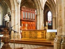 Cathédrale St. Louis de Blois, Altar Stockbilder