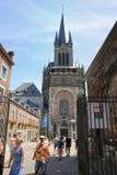 Cathédrale à Aix-la-Chapelle, Allemagne Images stock