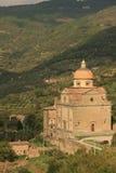 Cathédrale à Assisi Image libre de droits