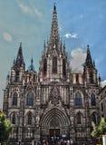 Cathédrale à Barcelone Image stock