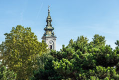 Cathédrale à Belgrade image libre de droits