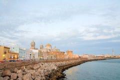 Cathédrale à Cadix Photos libres de droits