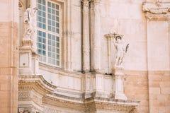 Cathédrale à Cadix, Espagne Jour ensoleillé Images libres de droits